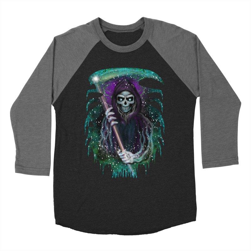 Galaxy Grim Reaper  Women's Longsleeve T-Shirt by R Lopez Designs
