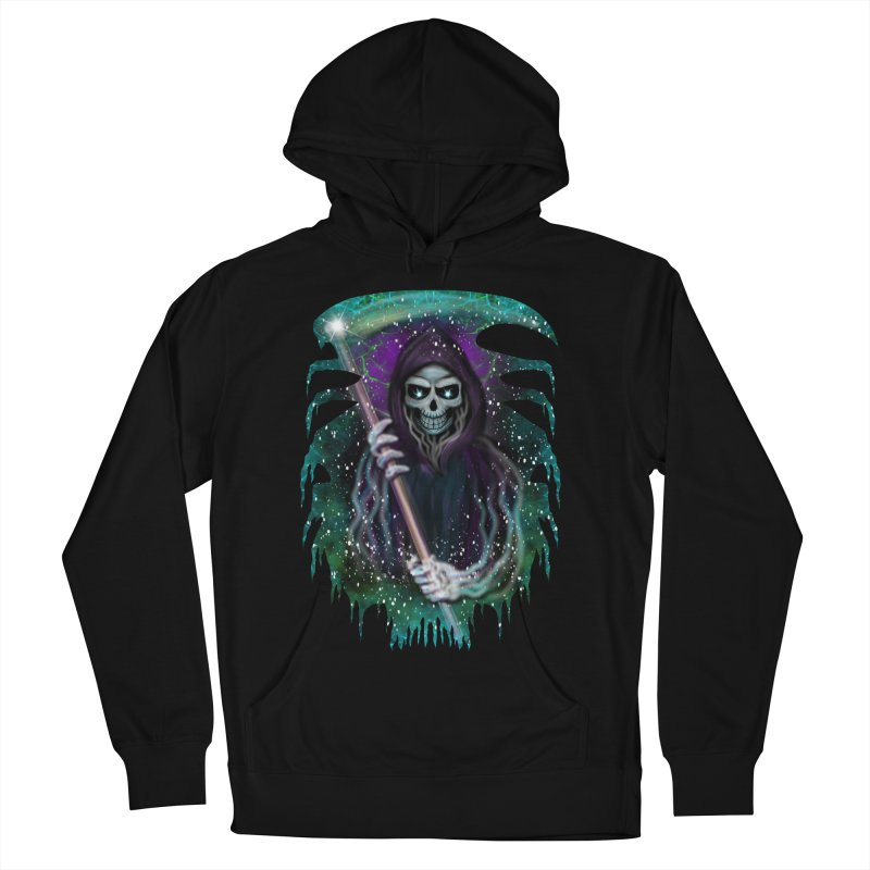 Galaxy Grim Reaper  Men's Pullover Hoody by R Lopez Designs