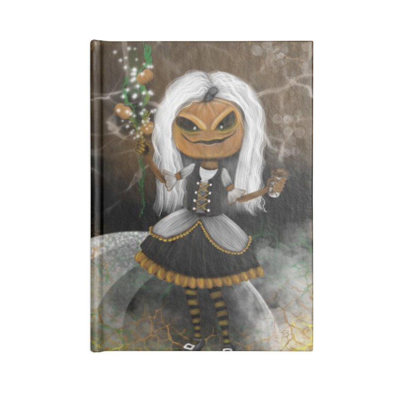 Pumpkin Coffee Maid Accessories Notebook by R Lopez Designs