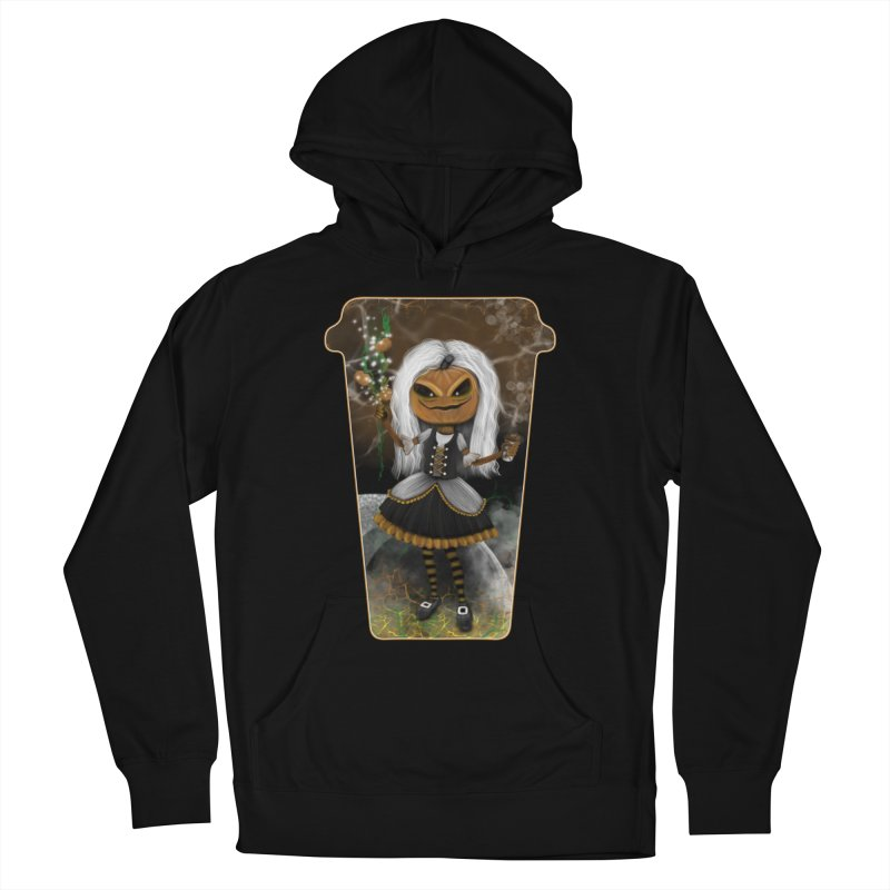 Pumpkin Coffee Maid Men's Pullover Hoody by R Lopez Designs
