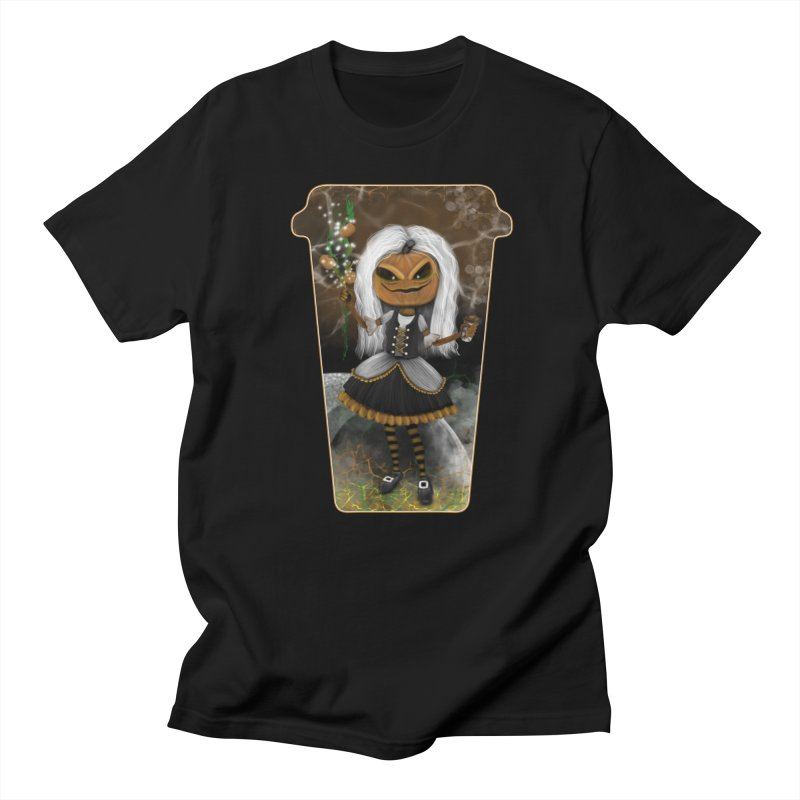Pumpkin Coffee Maid Women's T-Shirt by R Lopez Designs