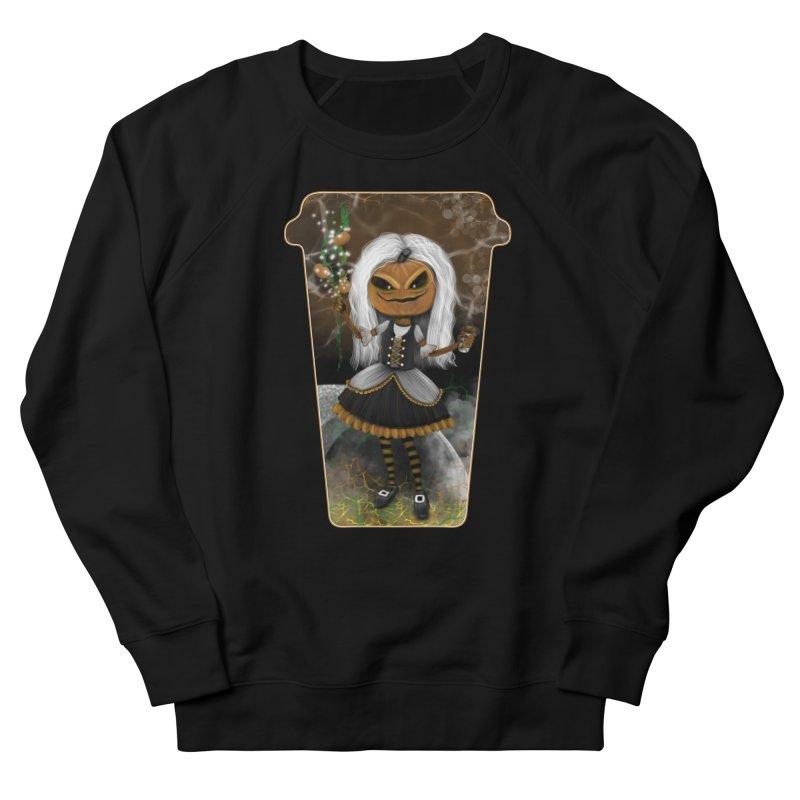 Pumpkin Coffee Maid Men's Sweatshirt by R Lopez Designs