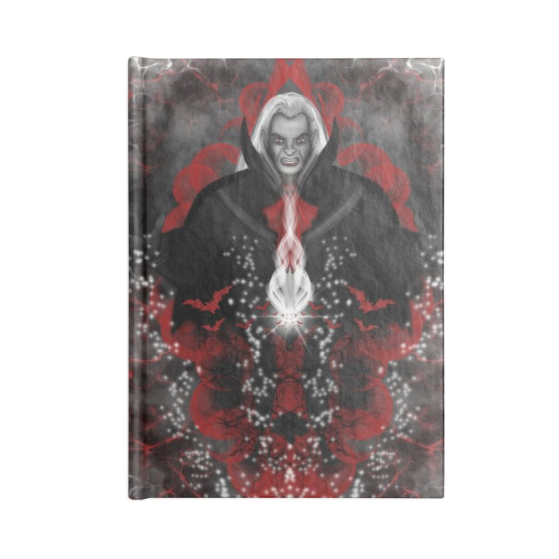 A Vampire Quest Accessories Notebook by R Lopez Designs