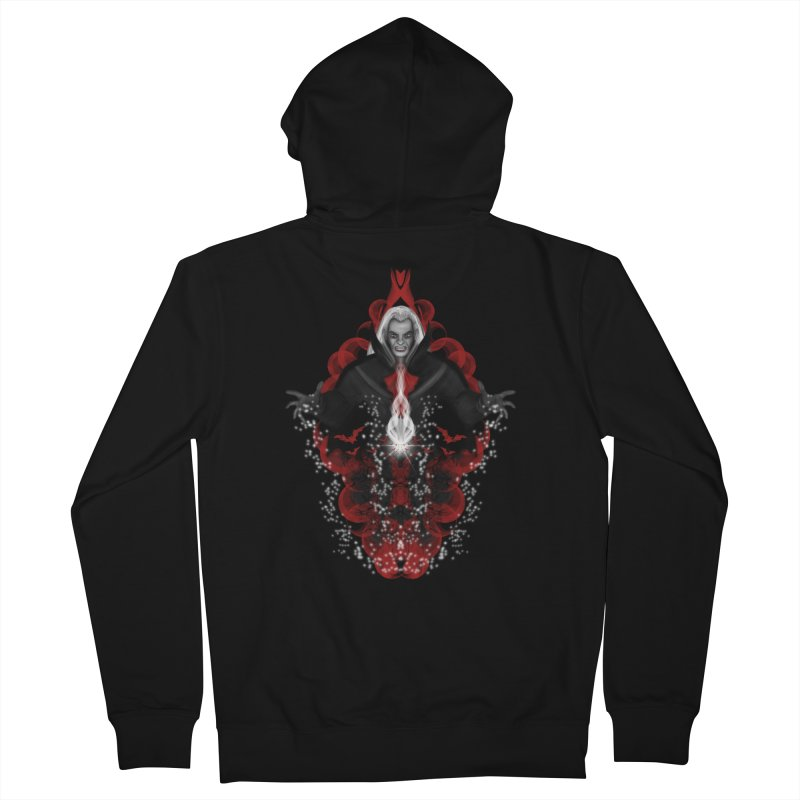 A Vampire Quest Men's Zip-Up Hoody by R Lopez Designs