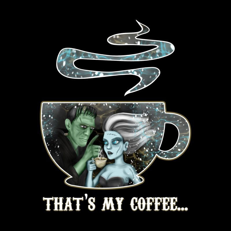 That's My Coffee Women's Longsleeve T-Shirt by R Lopez Designs
