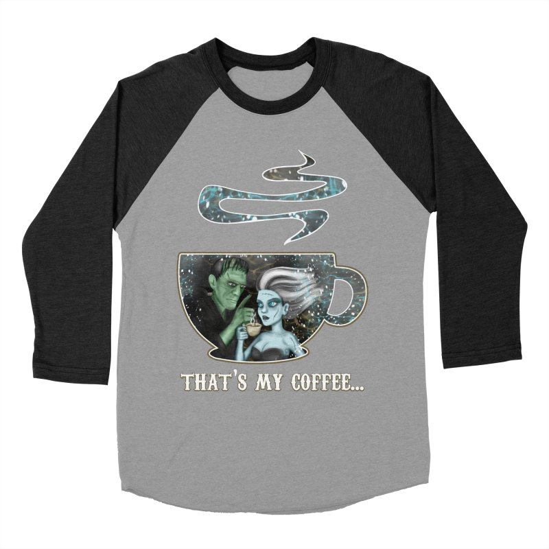 That's My Coffee Men's Longsleeve T-Shirt by R Lopez Designs