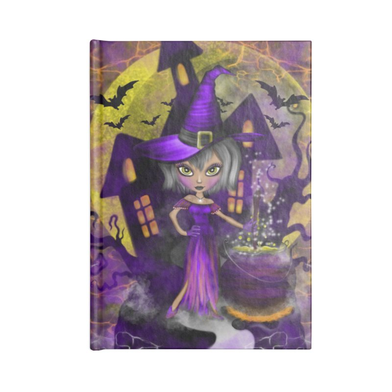Wisdom Witch Accessories Notebook by R Lopez Designs