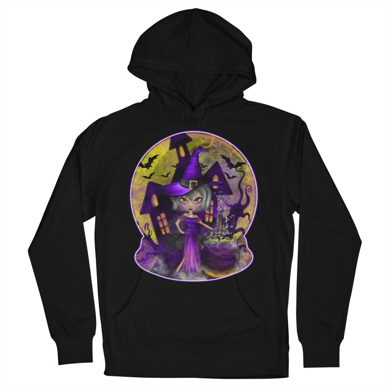 Wisdom Witch Women's Pullover Hoody by R Lopez Designs