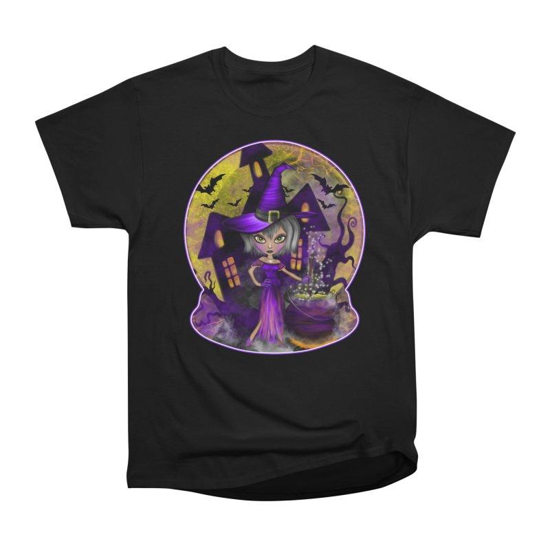 Wisdom Witch Men's T-Shirt by R Lopez Designs