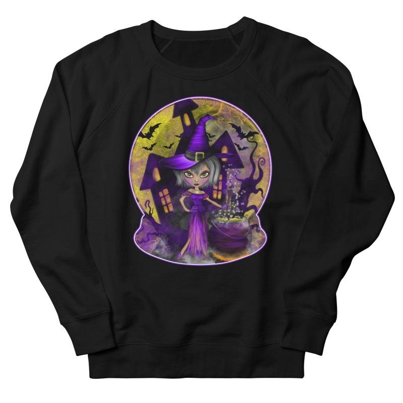 Wisdom Witch Men's Sweatshirt by R Lopez Designs