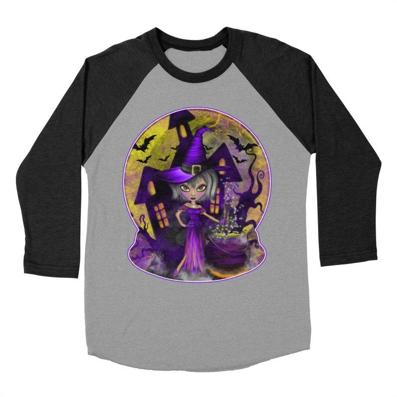Wisdom Witch Men's Longsleeve T-Shirt by R Lopez Designs