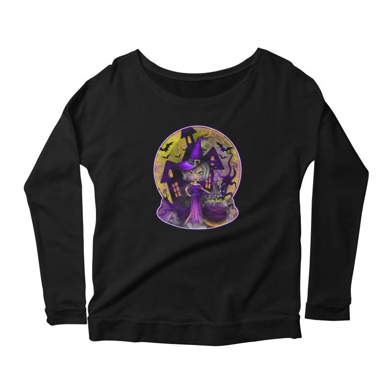Wisdom Witch Women's Longsleeve T-Shirt by R Lopez Designs