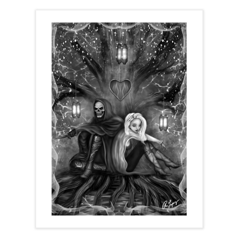 Love is Complicated in Fine Art Print by R Lopez Designs
