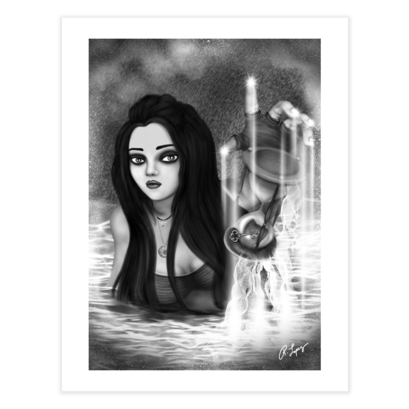 The Missing Key in Fine Art Print by R Lopez Designs