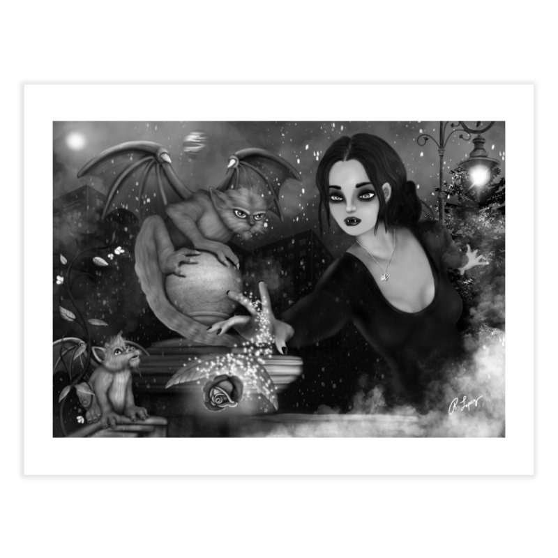 The Magic Rose in Fine Art Print by R Lopez Designs