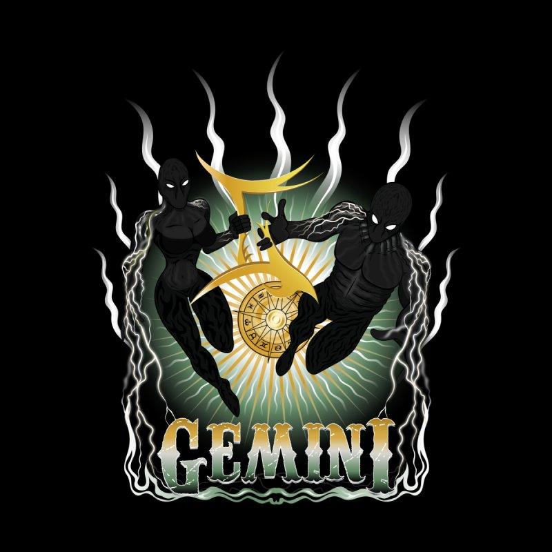 The Twins - Gemini Spirits by R Lopez Designs