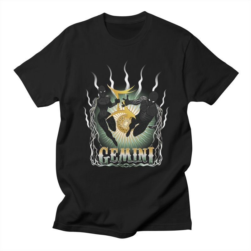 The Twins - Gemini Spirits Women's Regular Unisex T-Shirt by R Lopez Designs