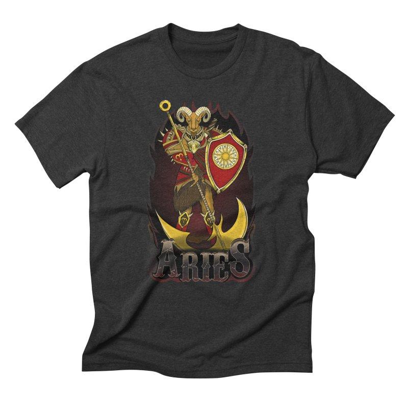 The Ram - Aries Spirit Men's Triblend T-Shirt by R Lopez Designs