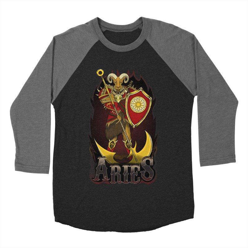 The Ram - Aries Spirit Men's Baseball Triblend Longsleeve T-Shirt by R Lopez Designs
