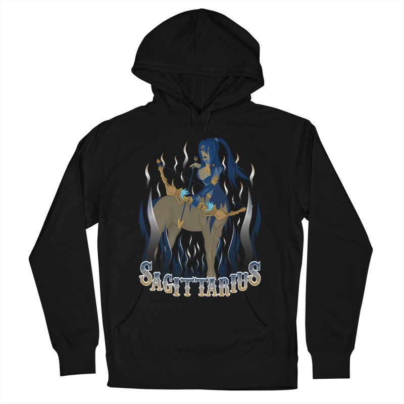 The Archer - Sagittarius Spirit Men's French Terry Pullover Hoody by R Lopez Designs