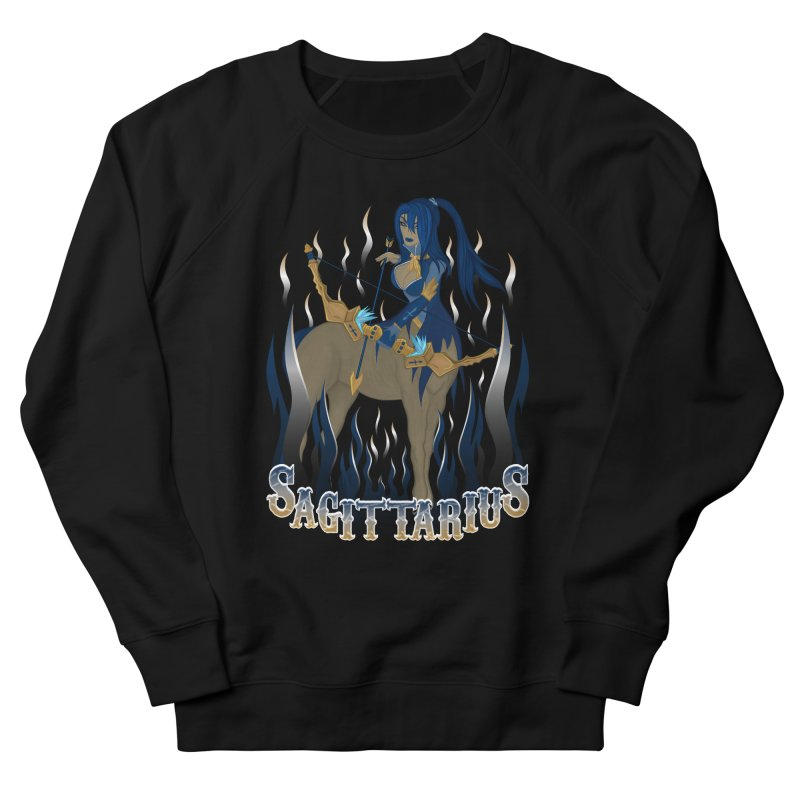 The Archer - Sagittarius Spirit Men's French Terry Sweatshirt by R Lopez Designs