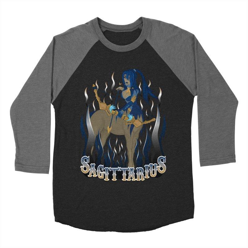 The Archer - Sagittarius Spirit Women's Baseball Triblend Longsleeve T-Shirt by R Lopez Designs