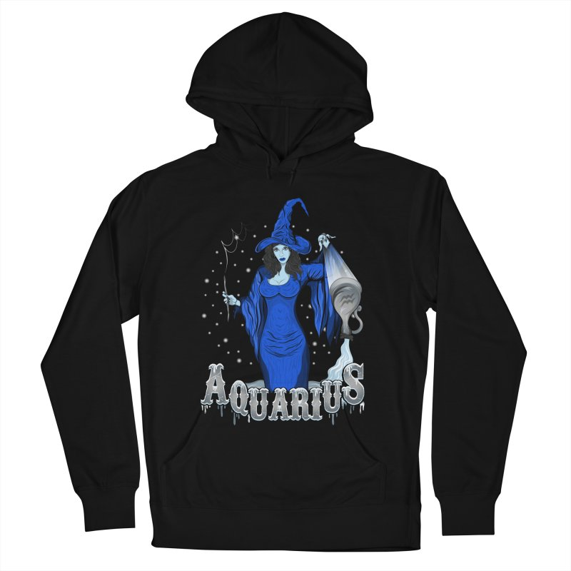 The Water Bearer - Aquarius Spirit Women's French Terry Pullover Hoody by R Lopez Designs