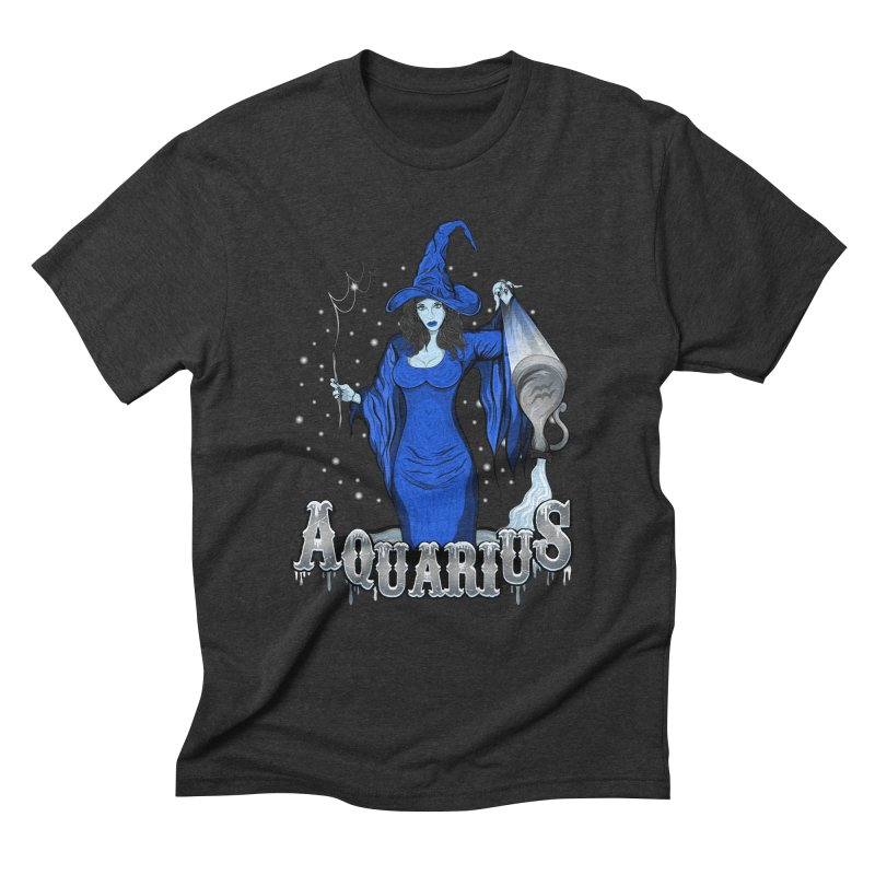 The Water Bearer - Aquarius Spirit Men's Triblend T-Shirt by R Lopez Designs