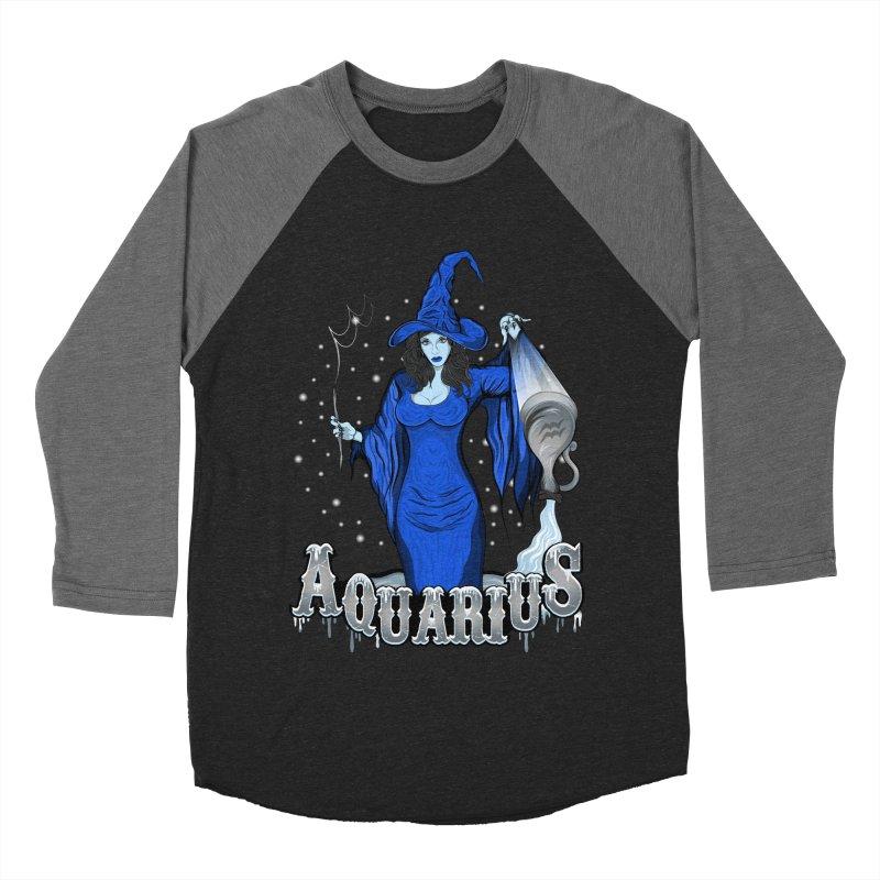 The Water Bearer - Aquarius Spirit Women's Baseball Triblend T-Shirt by R Lopez Designs