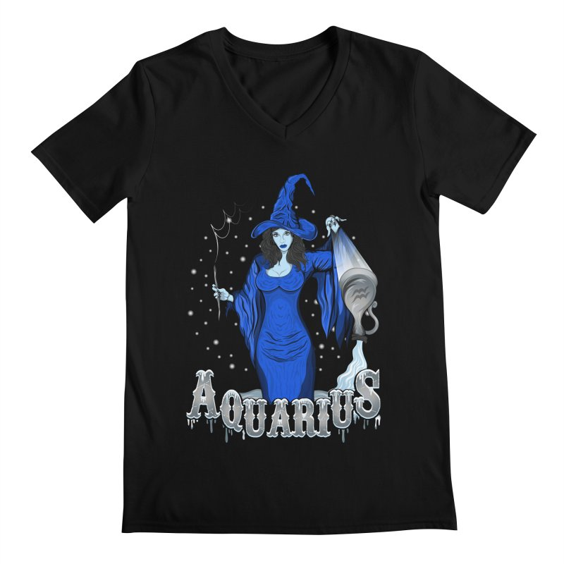 The Water Bearer - Aquarius Spirit Men's by rlopezdesigns