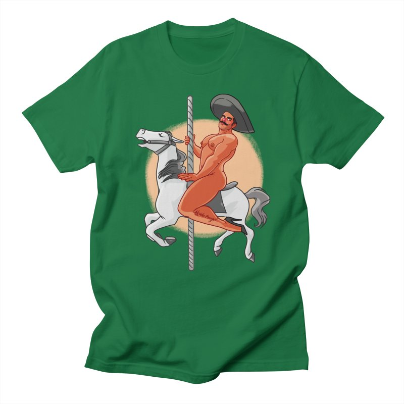 Queer Zapata Men's T-Shirt by Alfredo Roagui