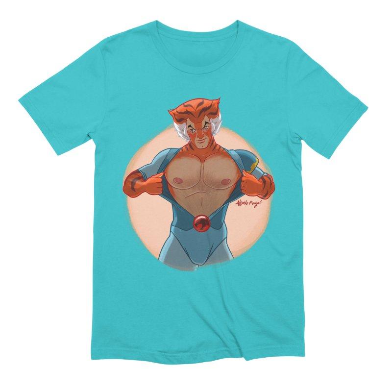 Tigra Men's T-Shirt by Alfredo Roagui