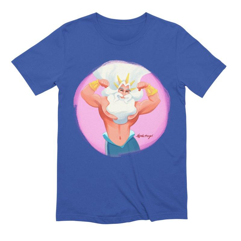 King Triton Men's T-Shirt by Alfredo Roagui