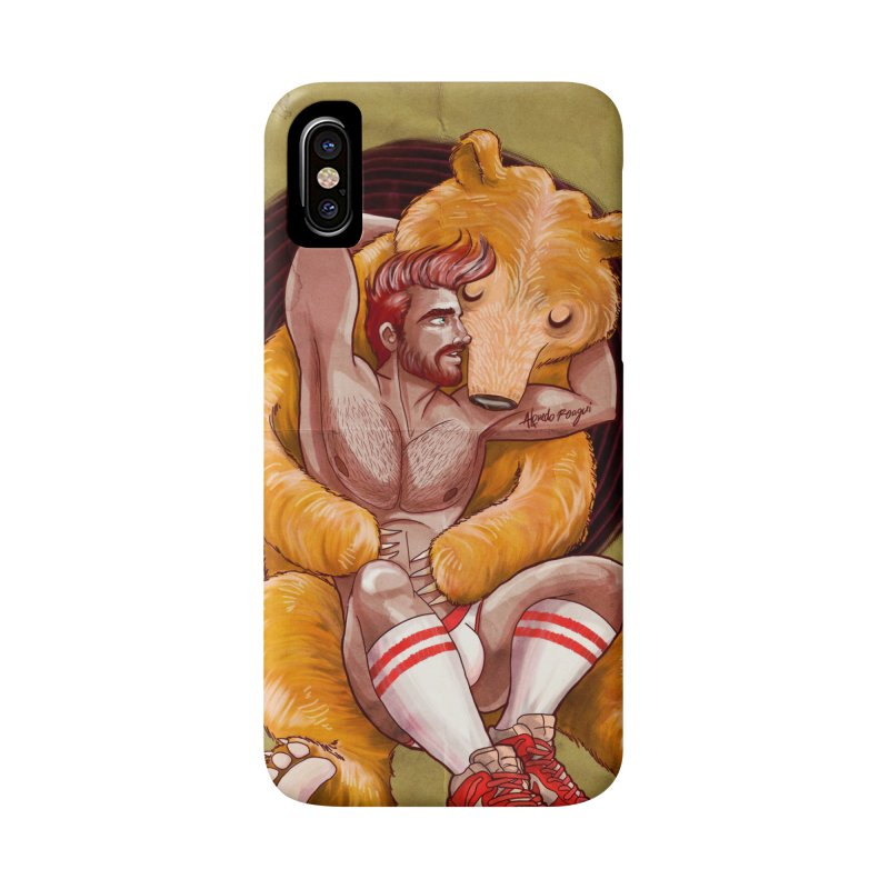 BearHug Accessories Phone Case by Roagui's Artist Shop