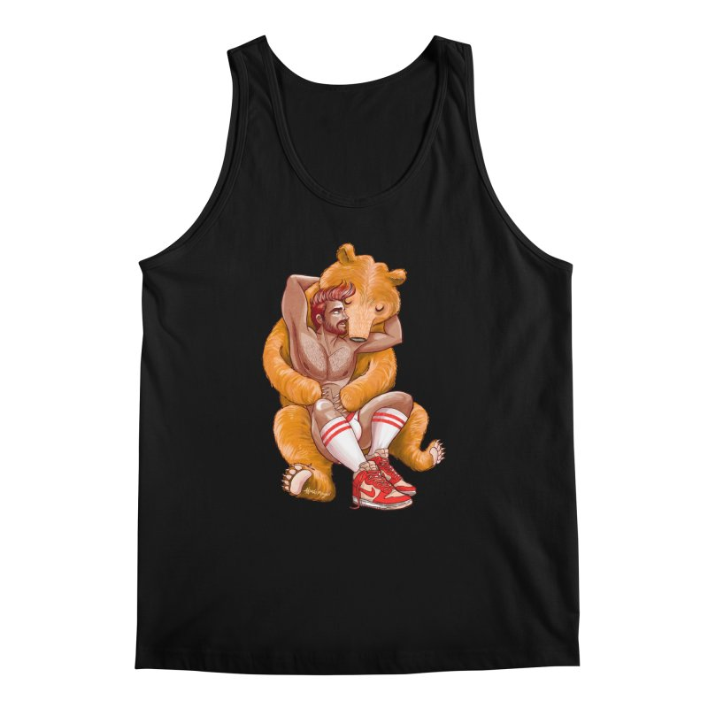 BearHug Men's Regular Tank by Roagui's Artist Shop