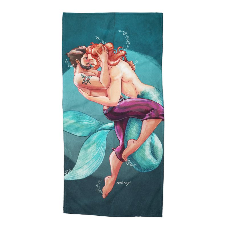 Sailor & Merman Accessories Beach Towel by Alfredo Roagui