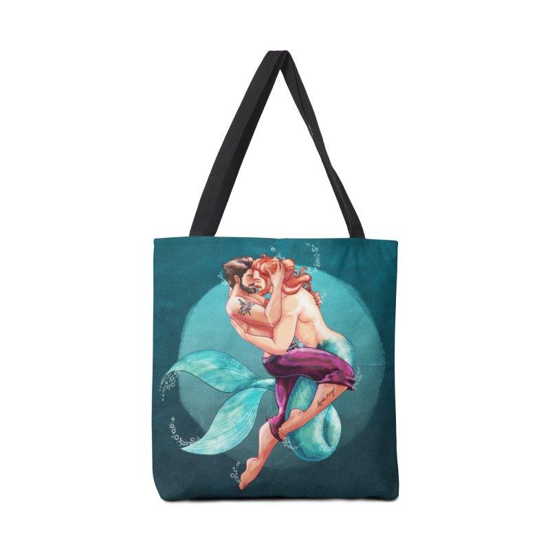 Sailor & Merman in Tote Bag by Roagui's Artist Shop