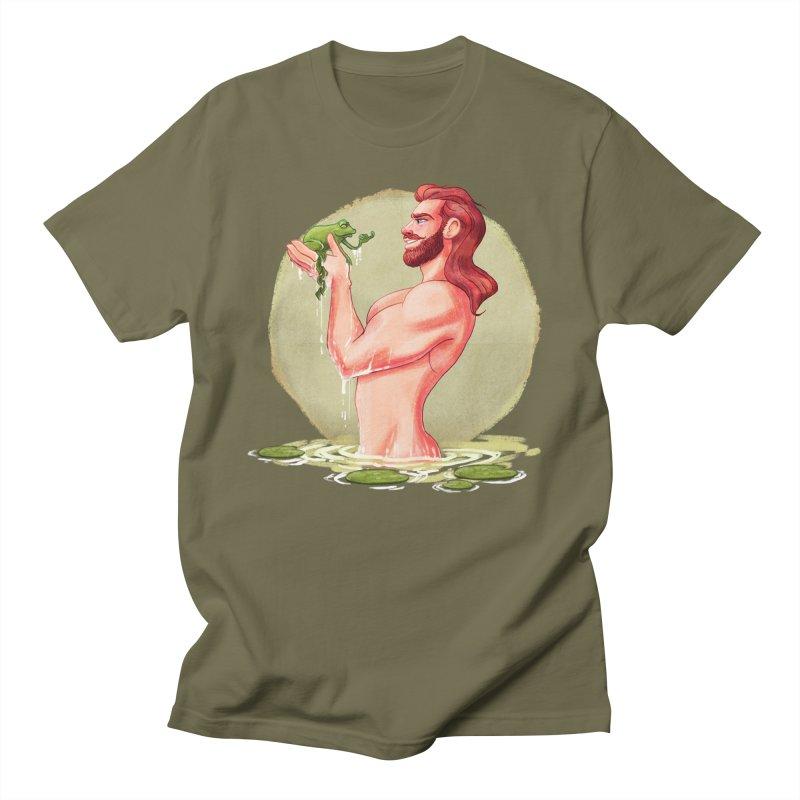 Frog Prince Men's T-Shirt by roagui's Artist Shop