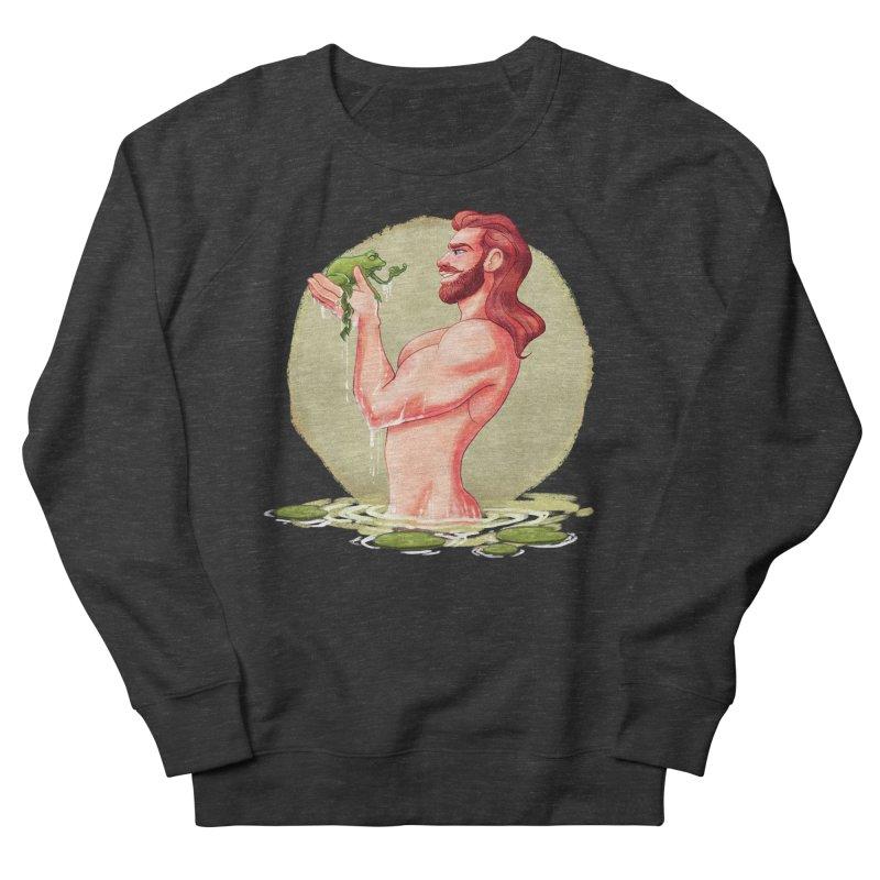 Frog Prince Men's Sweatshirt by roagui's Artist Shop