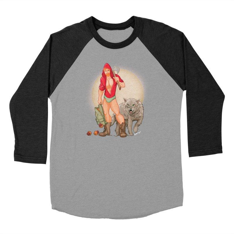 Red Riding Hood Men's Longsleeve T-Shirt by Alfredo Roagui