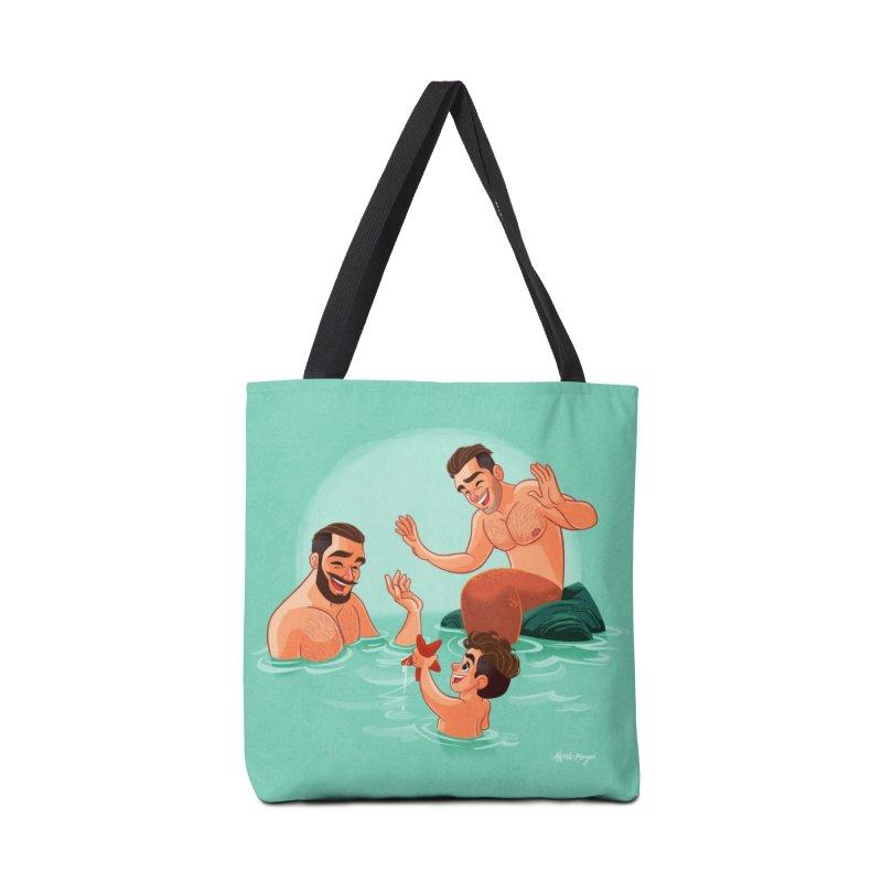 MerFamily Accessories Tote Bag Bag by Alfredo Roagui
