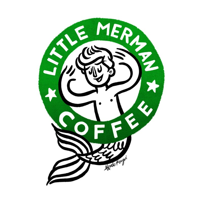 Little Merman Men's T-Shirt by Alfredo Roagui