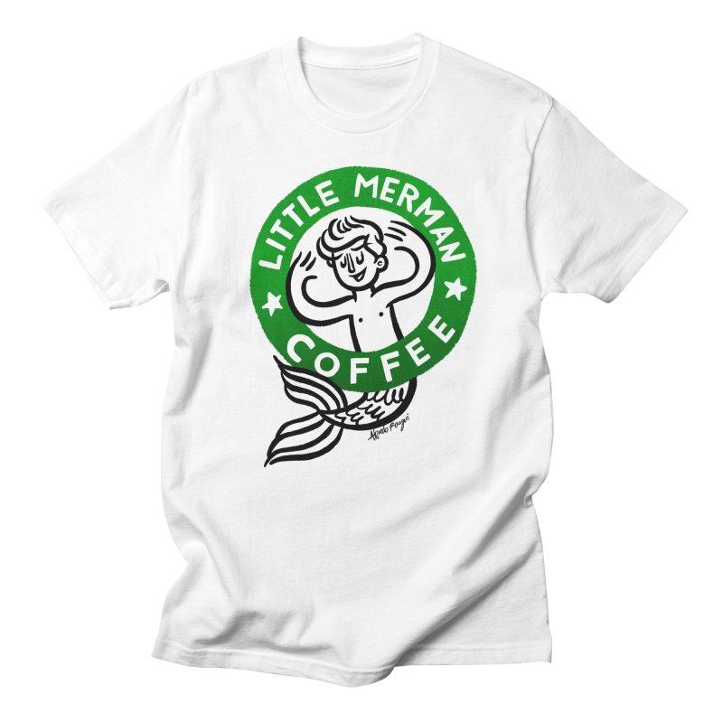 Little Merman Men's T-Shirt by Roagui's Artist Shop