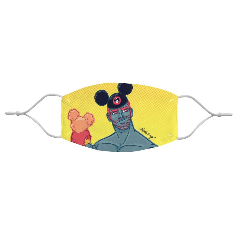 Mousey Accessories Face Mask by Alfredo Roagui