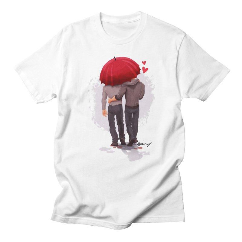 Umbrella Men's T-Shirt by roagui's Artist Shop