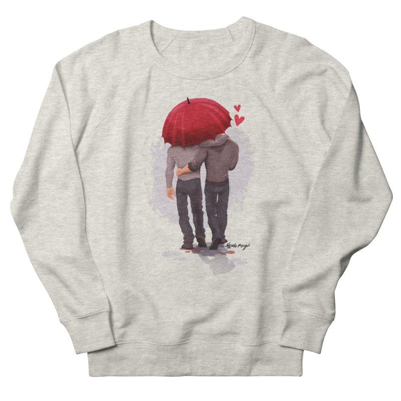 Umbrella Men's Sweatshirt by roagui's Artist Shop