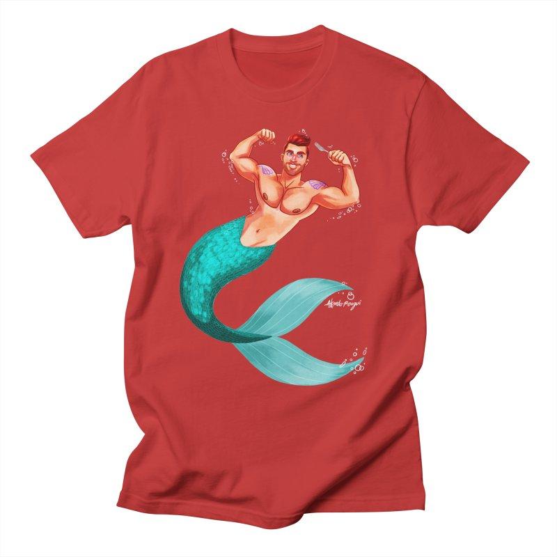 Ariel Men's T-Shirt by Alfredo Roagui