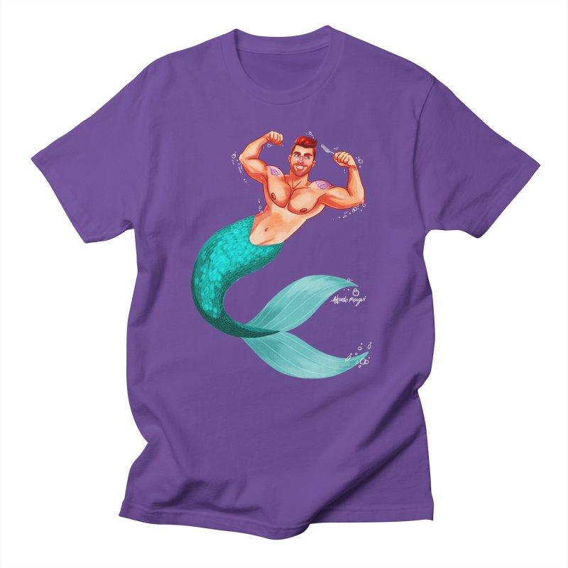 Ariel Men's Regular T-Shirt by Alfredo Roagui
