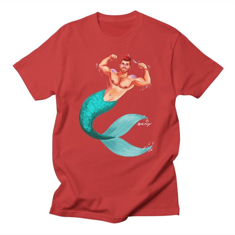 Ariel Men's T-Shirt by Alfredo Roagui