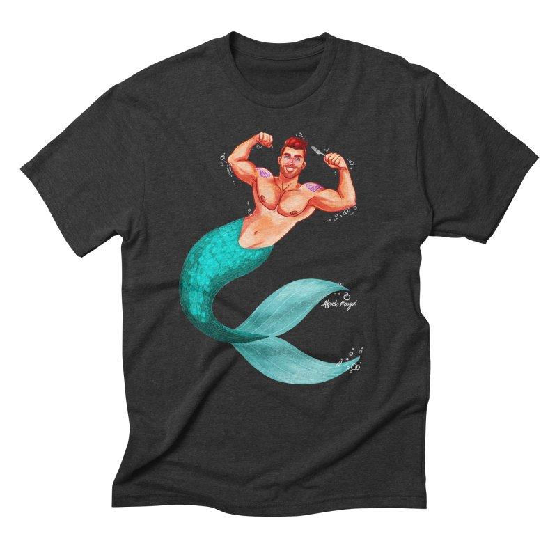 Ariel Men's Triblend T-Shirt by Roagui's Artist Shop